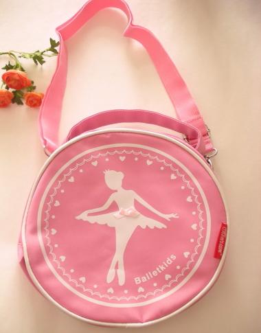 CD-010 バレリーナラウンドバッグ(ピンク)