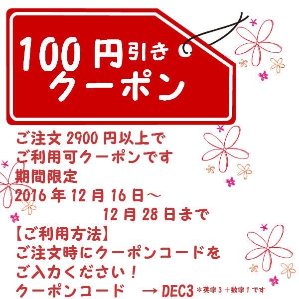 100円引きクーポンバレエ用品