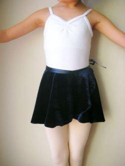 NB-36 ベロア巻きスカート