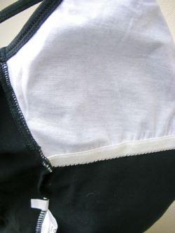 B-172 シャインレーススカート付きキャミソールレオタード