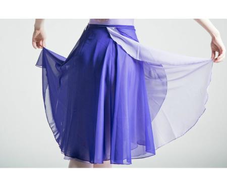 リバーシブルレイヤー 巻きスカート