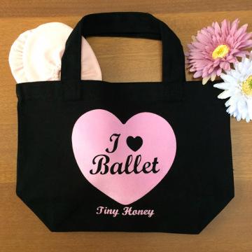 I ♥ Ballet トートバッグ S